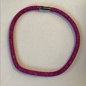 Swarovski Purple Sparkle Twist Bracelet